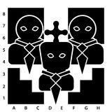 Ledare på schackbrädet Royaltyfria Bilder