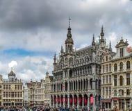 Ledare: 16th April 2017: Bryssel Belgien Hög upplösning p Arkivfoto