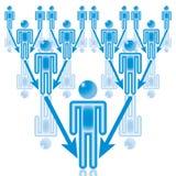 ledarelag för 13 blue Royaltyfria Foton