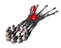 Ledarskap för affärsstrategi royaltyfri illustrationer