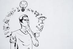 Ledarskap- och planbegrepp vektor illustrationer