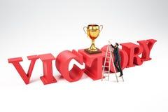 Ledarskap- och utmärkelsebegrepp vektor illustrationer