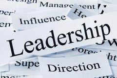 Ledarskapbegrepp Arkivbilder