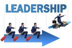 Ledarskapbegreppet med olikt aff?rsfolk arkivfoton