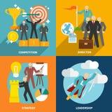 Ledarskapsymboler sänker vektor illustrationer