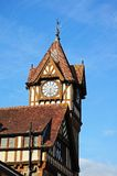 Ledbury library and clock tower. Stock Photography