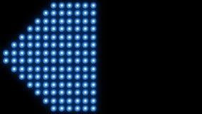 Ledd bakgrund 4K för väggljusnärbild royaltyfri illustrationer