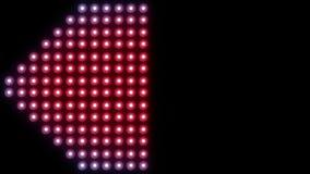 Ledd bakgrund 4K för väggljusnärbild vektor illustrationer