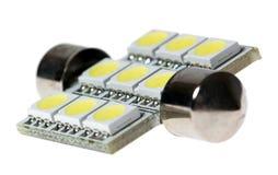 Ledd lampa för automatisk Arkivfoton