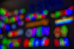 LEDD ljus bakgrund Royaltyfria Bilder