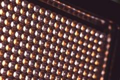 LEDD panel med ljusa dioder Royaltyfri Bild
