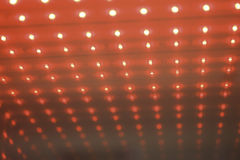 Ledd röd kub Royaltyfri Bild