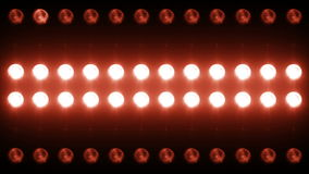 Ledd väggljusnärbild Backgrlound 4K stock video