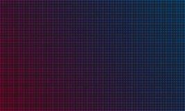 LEDD video bakgrund för väggskärmtextur Skärm för diod för blå och röd purpurfärgad färg för vektor ljus LEDD video royaltyfri illustrationer
