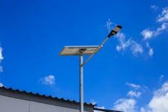 LEDDE celler för strömförsörjning för gatabelysning sol- Arkivfoton
