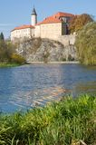 Ledec nad Sazavou,捷克共和国 免版税图库摄影