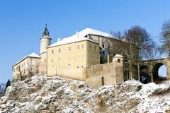 Ledec nad Sazavou Castle. In winter, Czech Republic Stock Images