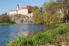 Ledecnad Sazavou, Tsjechische republiek royalty-vrije stock foto