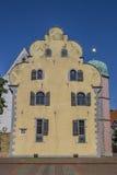 Ledenhof de construction historique au centre d'Osnabrück Images libres de droits