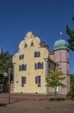 Ledenhof de construction historique au centre d'Osnabrück Images stock