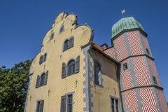 Ledenhof de construction historique au centre d'Osnabrück Image libre de droits