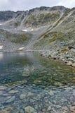 Ledenoto & x28; Ice& x29; Озеро и пик Musala, гора Rila стоковые фотографии rf
