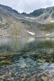 Ledenoto & x28; Ice& x29; Озеро и пик Musala, гора Rila Стоковая Фотография RF