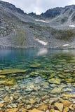 Ledenoto & x28; Ice& x29; Озеро и пик Musala, гора Rila Стоковые Изображения