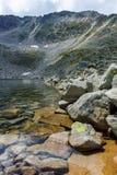 Ledenoto & x28; Ice& x29; Озеро и пик Musala стоковая фотография