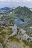 Ledenoto & x28; Ice& x29; Озеро от пика Musala, горы Rila Стоковые Фотографии RF
