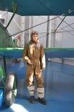 Ledenpop in het Luchtmachtmuseum in Monino Rusland royalty-vrije stock afbeelding