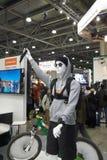 Ledenpop met Sony Action Cam Stock Fotografie