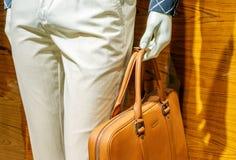 Ledenpoppen en handtassen Royalty-vrije Stock Fotografie