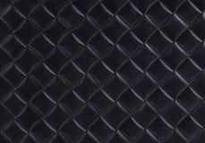 Leder mit aufgeprägter geometrischer Zeichnung Lizenzfreies Stockbild