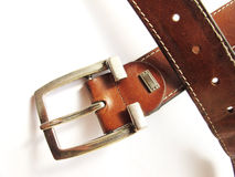 Ledergürtel stockfoto