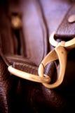 Lederhandtasche Stockbild