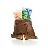Lederhosen Change Purse Royalty Free Stock Photo