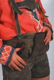 Lederhosen german Stock Photo