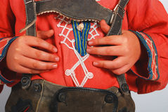 Lederhosen german Stock Image