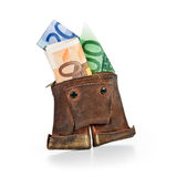 Lederhosen Wallet Royalty Free Stock Image