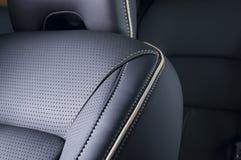 Lederne Autositze Stockfotografie