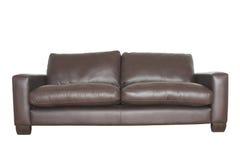 Lederne Couch Lizenzfreie Stockbilder
