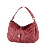 Lederne Damenhandtasche Stockbild