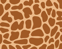 Lederne Giraffe Stockfoto