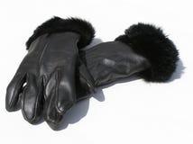 Lederne Handschuhe Lizenzfreies Stockbild