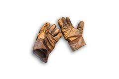 Lederne Handschuhe. Lizenzfreies Stockbild