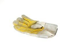 Lederne Handschuhe Stockfotos
