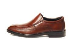 Lederne Schuhe Stockfotografie