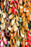 Lederne Schuhe Lizenzfreies Stockfoto