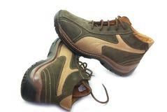 Lederne Schuhe Lizenzfreie Stockbilder
